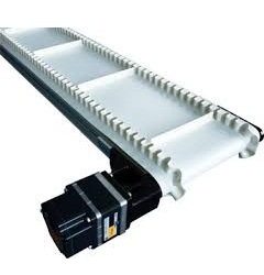 PVC Conveyor Belt With Dual Drive And Cleats